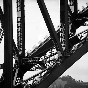 Abstract Harbour Bridge by WhizzDesign