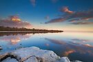 Salton Sea Sunset by photosbyflood