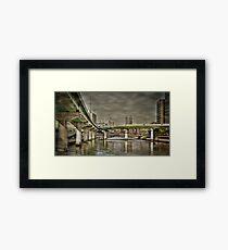 Dojima bridges Framed Print