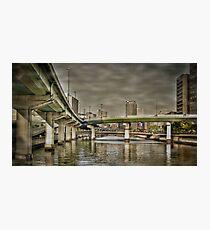 Dojima bridges Photographic Print
