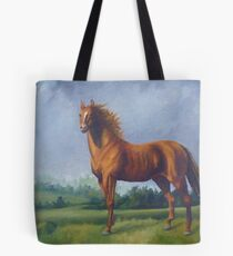 Man O'War Racehorse Tote Bag