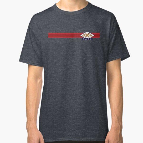 PATG Horizontal Stripe, Red Classic T-Shirt
