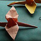 Paper Cranes by ariel154