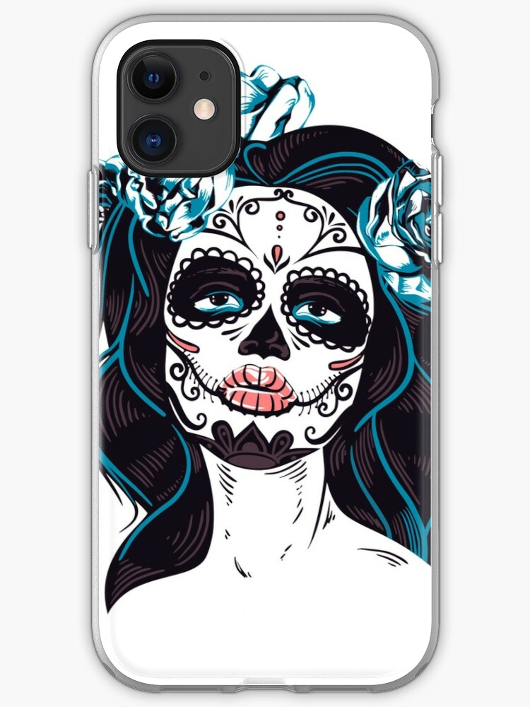Dia de Los Muertos Skeleton Musicans iPhone 11 case