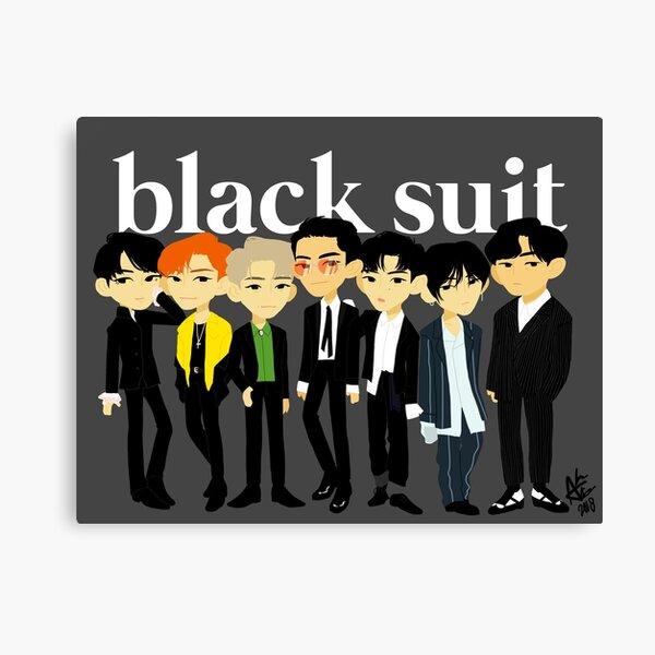 Traje negro // Super Junior Lienzo