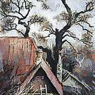 Old House in Ukraine by Oleg Atbashian