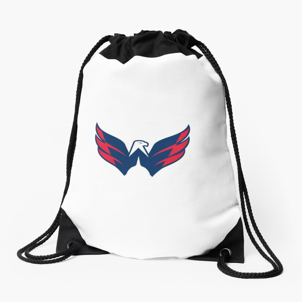 Washington Capitals Logo Drawstring Bag
