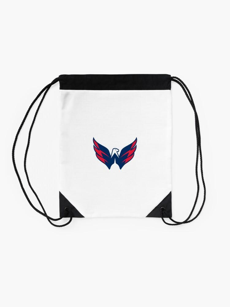 Alternate view of Washington Capitals Logo Drawstring Bag