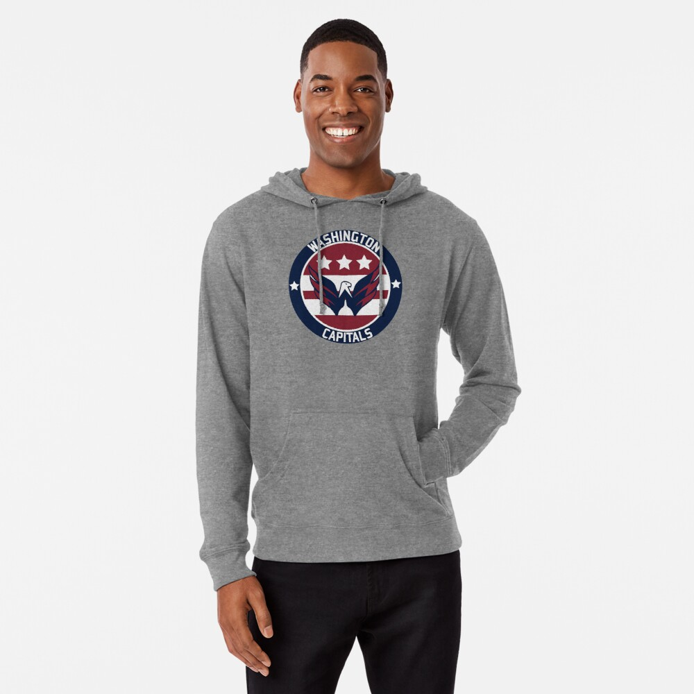 Washington Capitals Logo Lightweight Hoodie