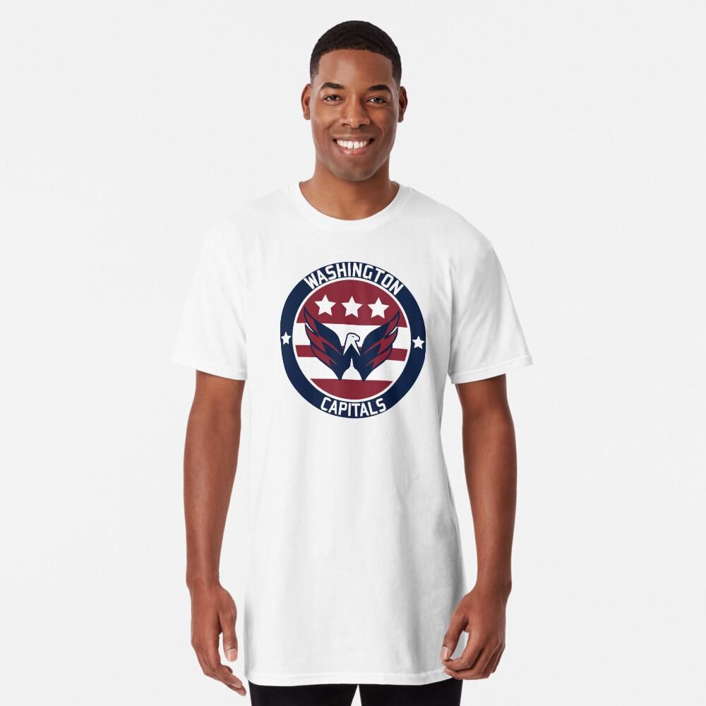 Washington Capitals Logo Long T-Shirt