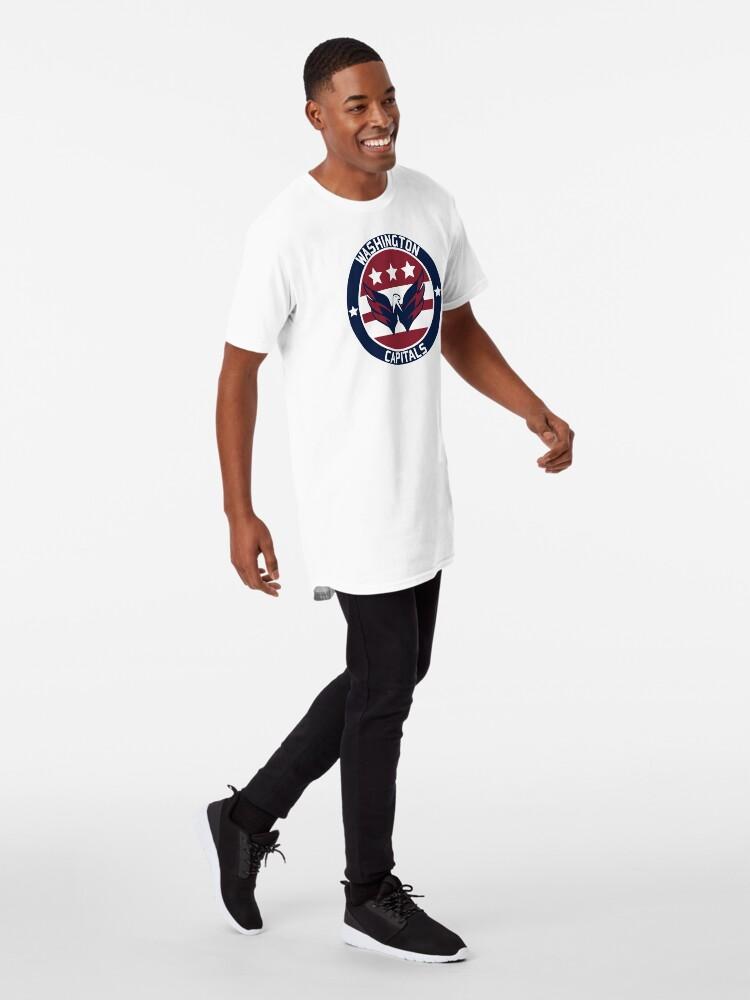 Alternate view of Washington Capitals Logo Long T-Shirt