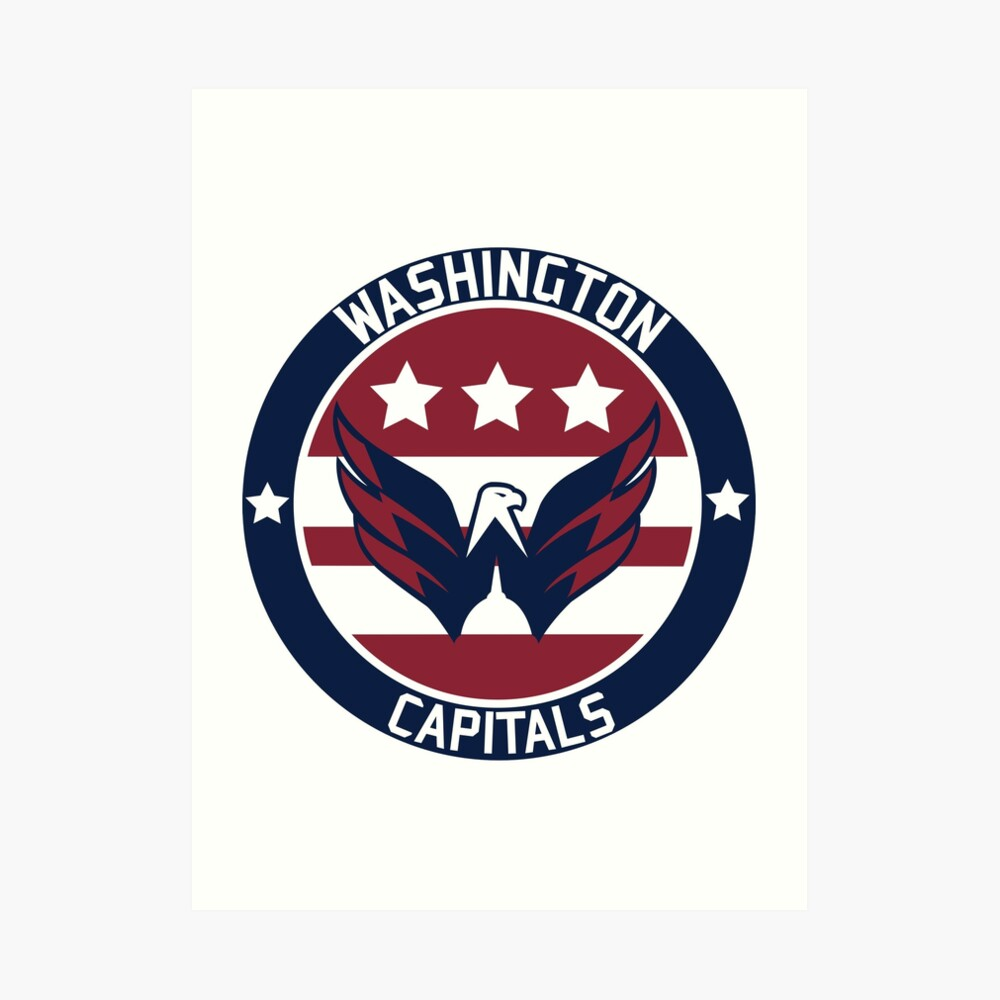 Washington Capitals Logo Art Print