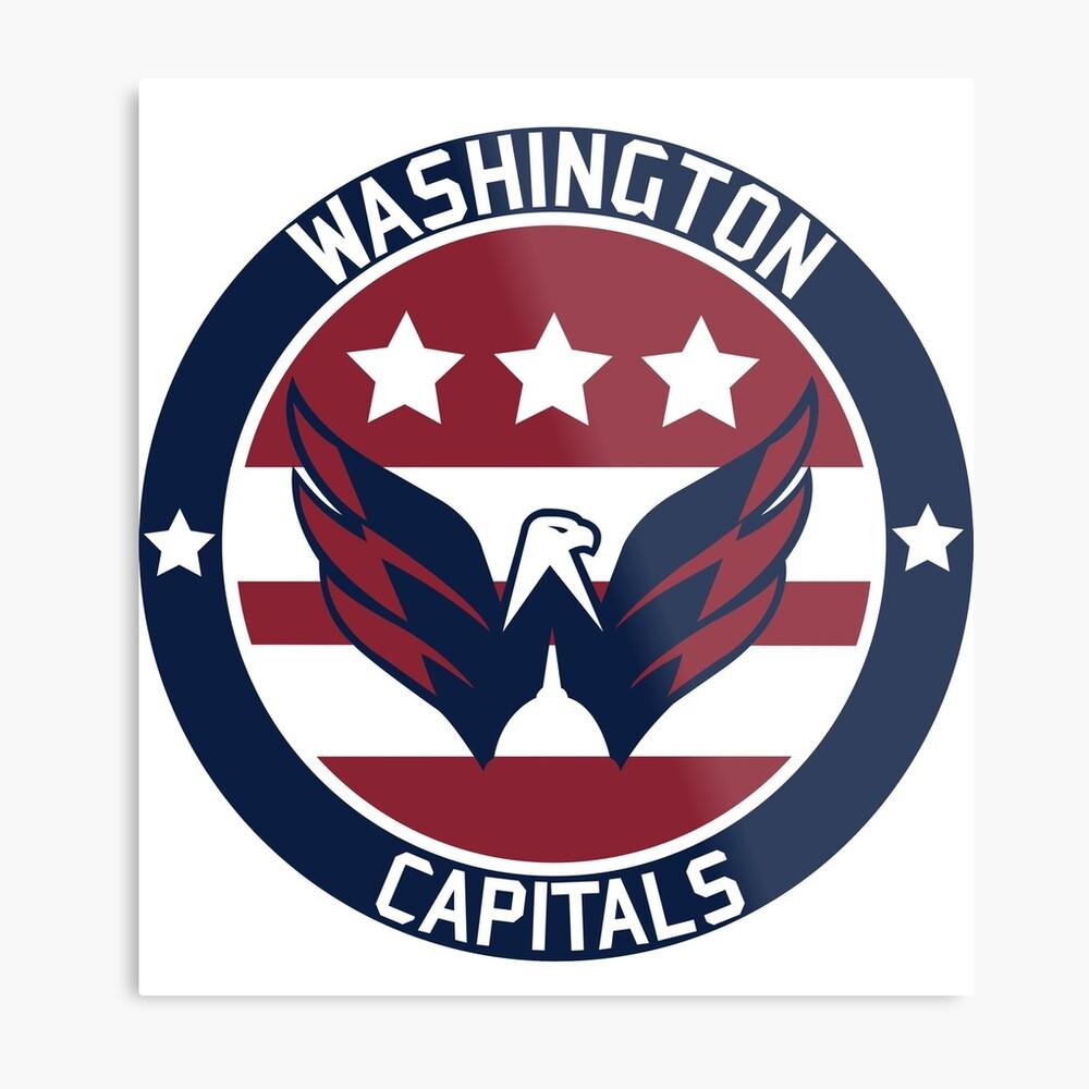 Washington Capitals Logo Metal Print