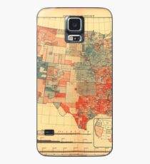 1880 US Elections Map Case/Skin for Samsung Galaxy