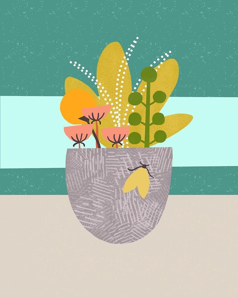 Planter Moth by BirdsongPrints