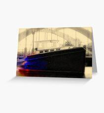 Wickford Concrete Bridge & OK Boat Greeting Card