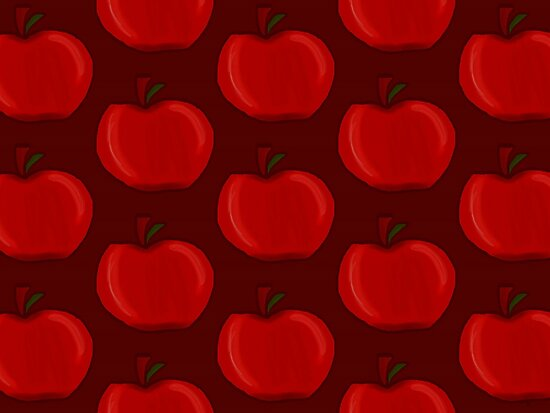 Red Apples by CharmedHeartArt