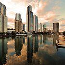 Surfers Paradise, Gold Coast. Australia by Ralph de Zilva