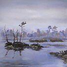 Unnamed Swamp in Siberia by Oleg Atbashian