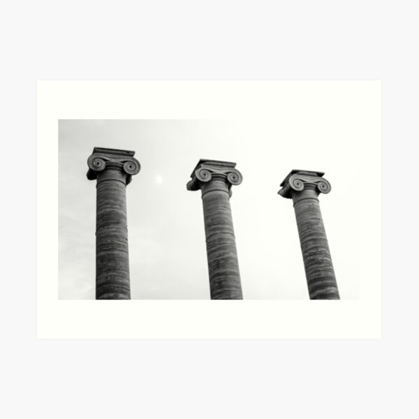 Pillars of Strength Art Print