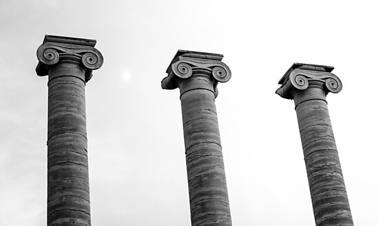 Pillars of Strength by Robert McMahan