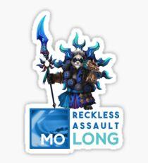 Reckless Assault Mo Long Summoners War Panda Water  Sticker