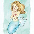 MerMay 2018: May 14th - Threaten Mermaid by dreampigment
