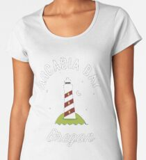 Arkadien Bay Organ Frauen Premium T-Shirts