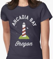 Arcadia Bay Organ Women's Fitted T-Shirt