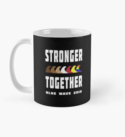 Stronger Together Blue Wave 2018 Mug