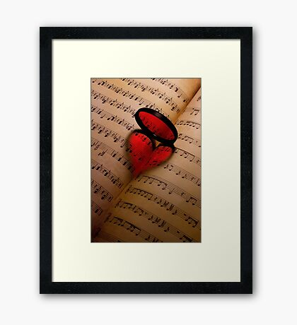 Love 2.0 Framed Print