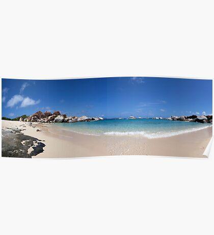 "Virgin Gorda, Tortola - ""The Baths"" - Panoramic Poster"