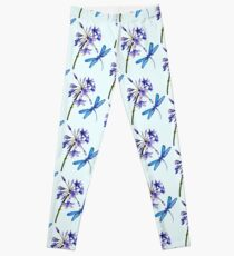 Nature's Gift's - Dragonfly and Flower Leggings