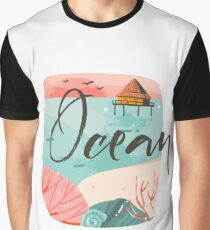 Ocean time Graphic T-Shirt