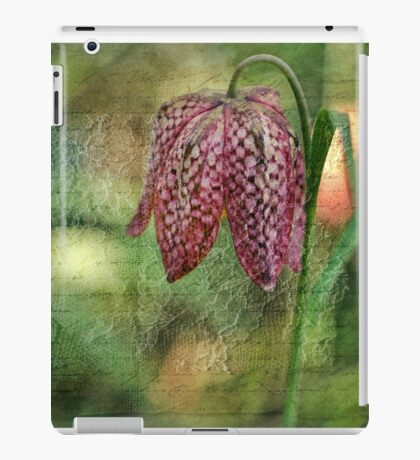 Every flower enjoys the air it breathes... iPad Case/Skin