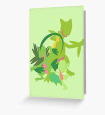 Treecko Evolution Greeting Card