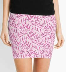 Into The Palms - Pink Mini Skirt