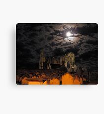 Over the River Esk to Whitby Abbey    10 Canvas Print