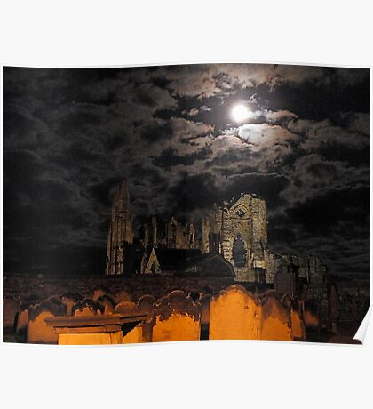 Over the River Esk to Whitby Abbey    10 Poster