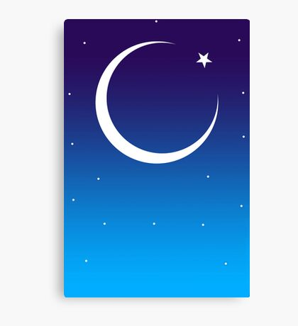 Id Moon Canvas Print
