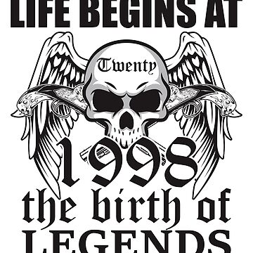 Life begins at twenty 1998 The birth of legends by ontajunior
