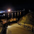 Whitby Harbour, and the 199 steps         The End! by dougie1