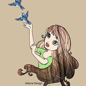 girl sets 2 birds free (2339 Views) by aldona