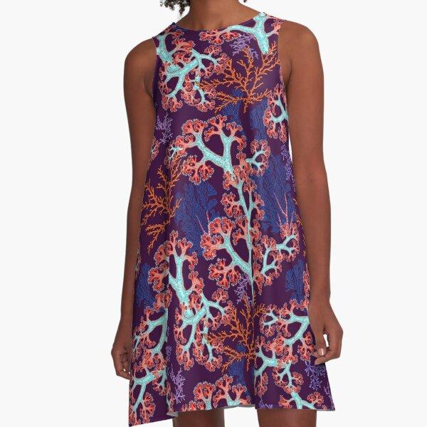 coral dream A-Line Dress