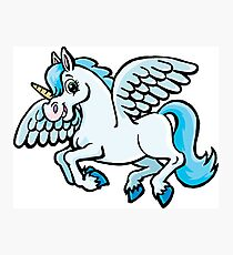 unicorn with wings Photographic Print