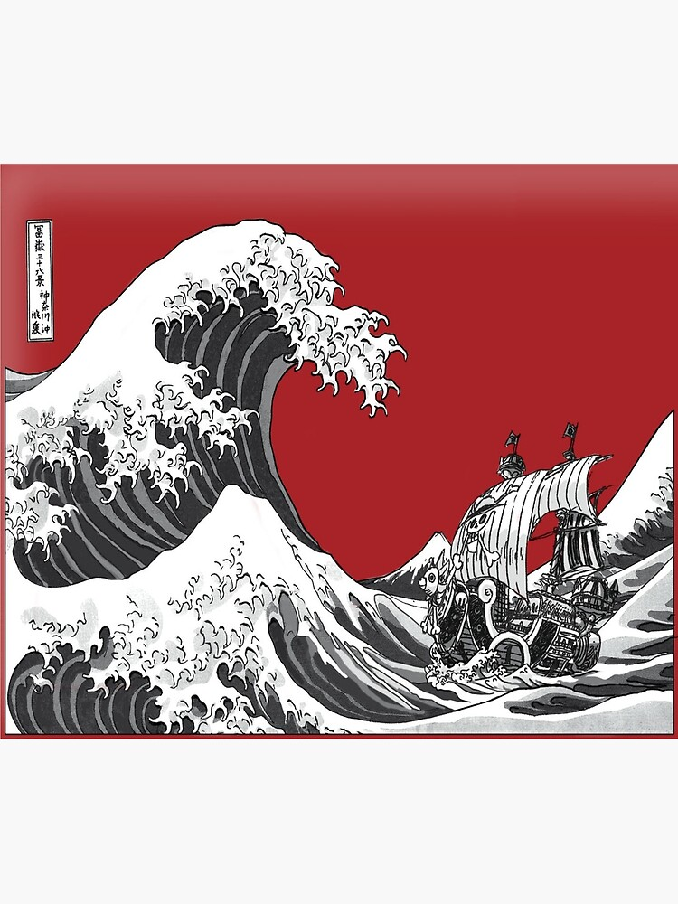 RED The Great Wave  by Bray4321