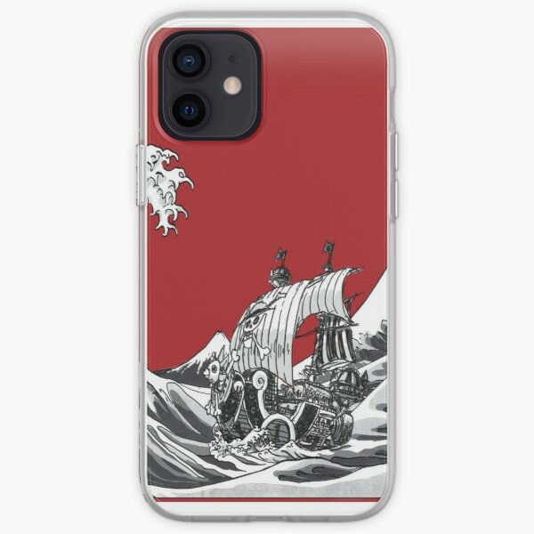 RED The Great Wave  iPhone Soft Case