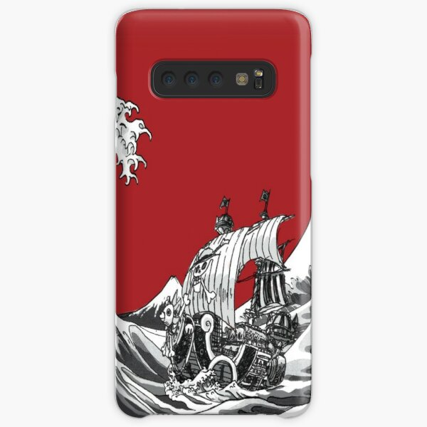 RED The Great Wave  Samsung Galaxy Snap Case