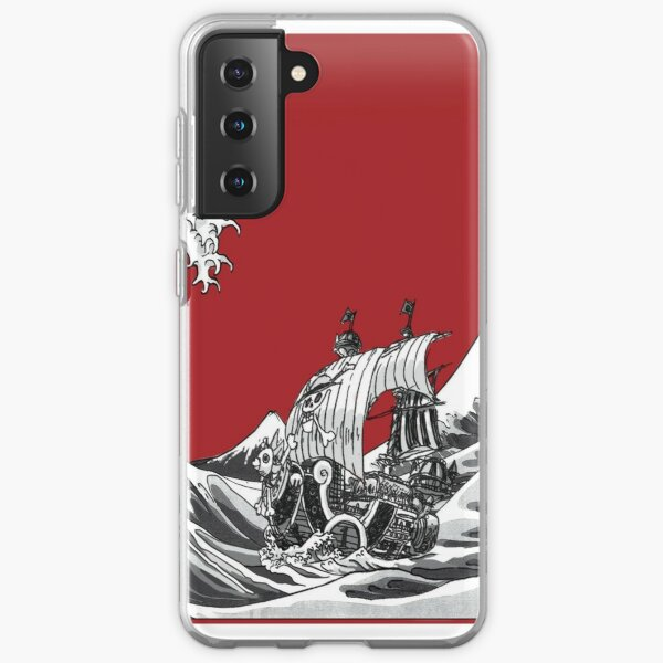 ROUGE La Grande Vague Coque souple Samsung Galaxy