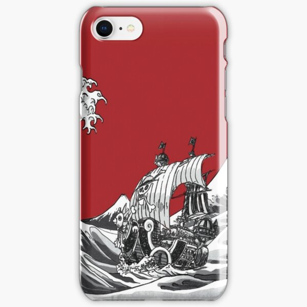RED The Great Wave  iPhone Snap Case